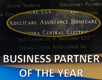 Sun City Home Owners Association (SCHOA) Business Partner of the Year