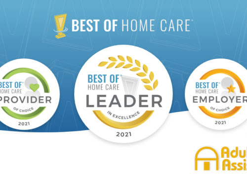 2021 Best of Home Care – Leader in Excellence Award