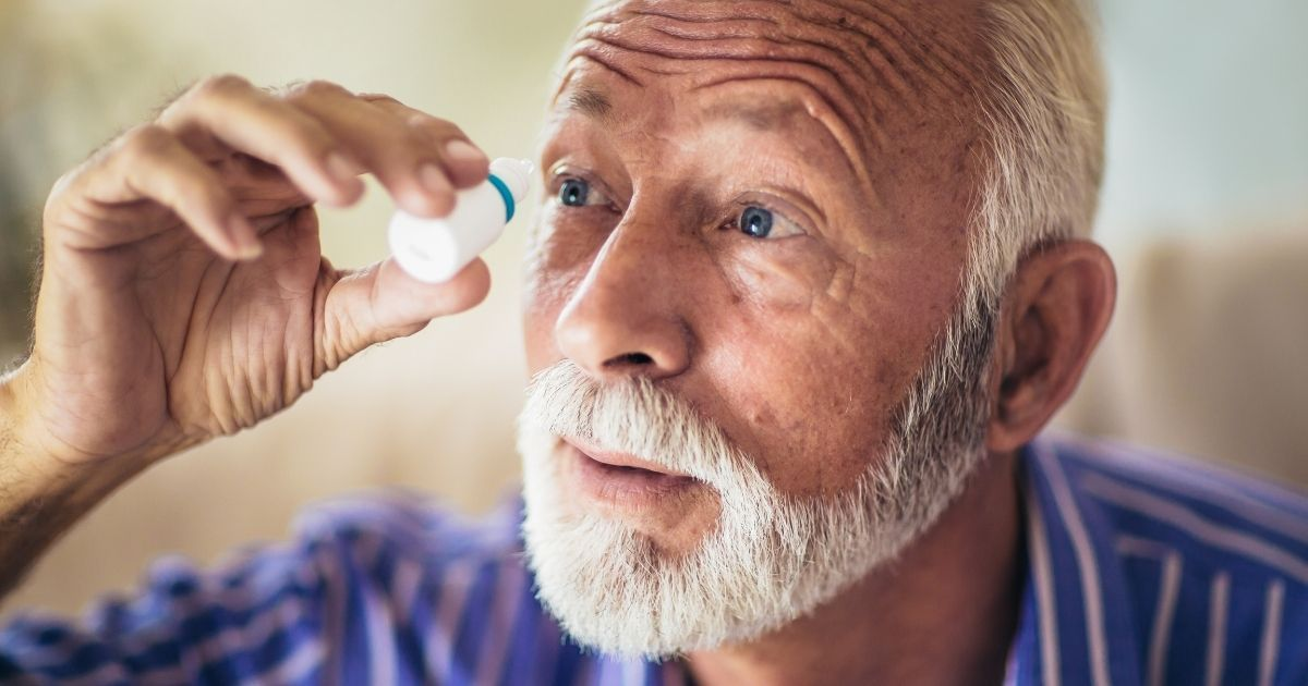 It's important to properly diagnose and treat eye disorders in seniors.