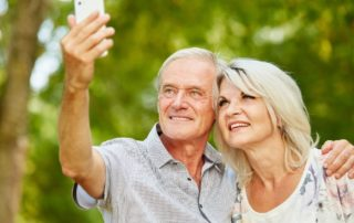 Social media can keep your senior loved one mentally engaged and social.